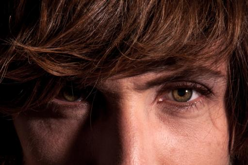 Close up of man eyes and face - Free Stock Photo