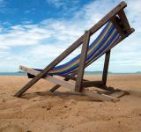 Free Photo - Deckchair on a Tropical Beach