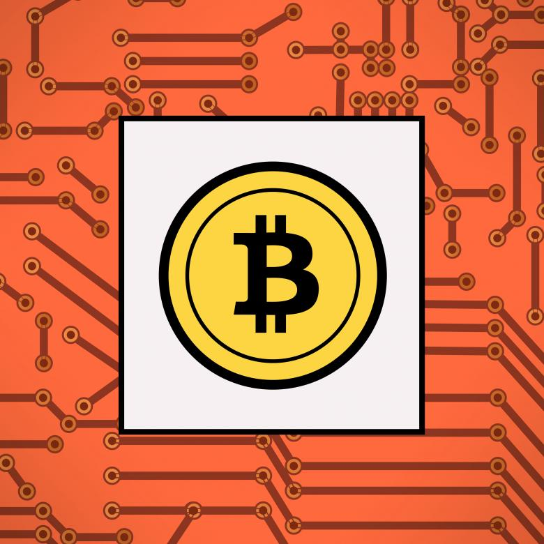 Free Stock Photo of Bitcoin symbol - Virtual payments Created by Jack Moreh