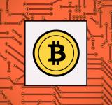 Free Photo - Bitcoin symbol - Virtual payments