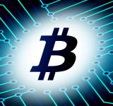 Free Photo - Bitcoin logo - Virtual currency