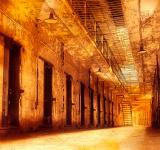 Free Photo - Infernal Prison Corridor
