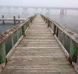 Free Photo - Misty Assateague Pier - HDR