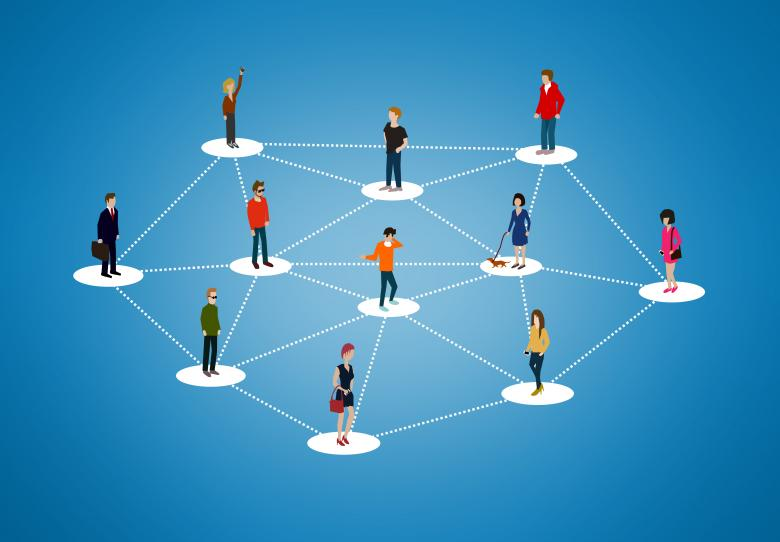 Free Stock Photo of The social network - People networking Created by Jack Moreh