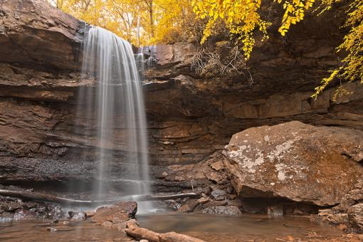 Gold Cucumber Falls - HDR - Free Stock Photo