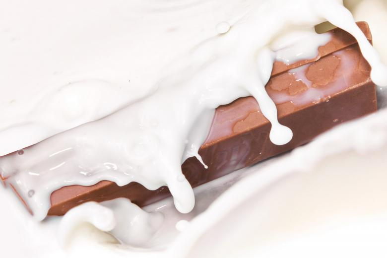 Free Stock Photo of Chocolate in milk Created by 2happy