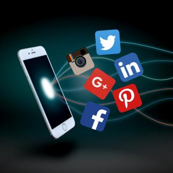 Social media apps - With new Google logo - Free Stock Photo