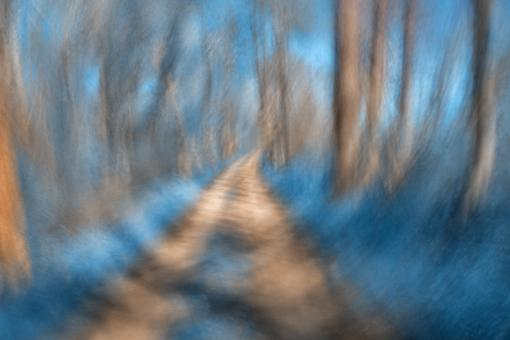 Spinning Sapphire Trail - Free Stock Photo