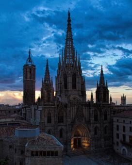 Barcelona Cathedra, Barri Gotic - Free Stock Photo