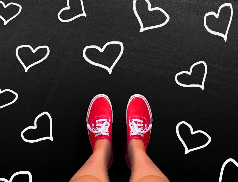 Love is red - Valentines day concept - Free Valentines Day Images