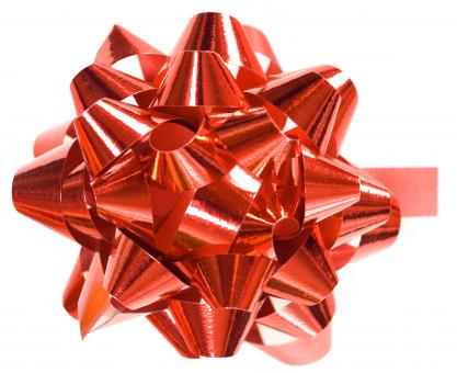 Red bow - Free Stock Photo