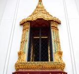 Free Photo - Thai style temple window at Wat Phra Kaew - Bangkok - Thailand