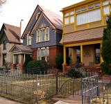 Free Photo - Downtown Denver Residential Houses
