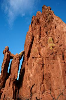 Cathedral Spires at Garden of the Gods - Free Stock Photo