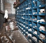 Free Photo - Abandoned Silk Mill Storage Room