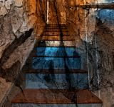 Free Photo - Cracked Wood Staircase