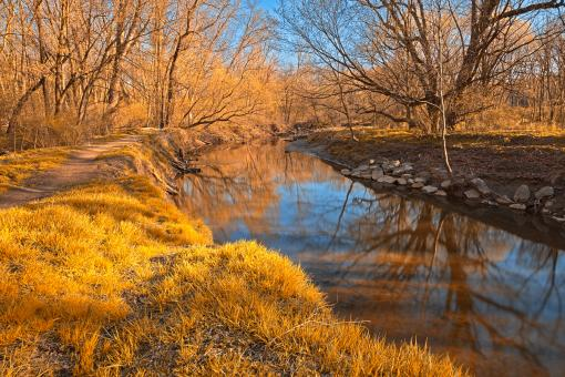 Gold Rock Creek - HDR - Free Stock Photo