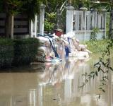 Free Photo - Sandbags Protecting Against Flood Water