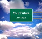 Free Photo - Your Future Just Ahead road sign - Future concept