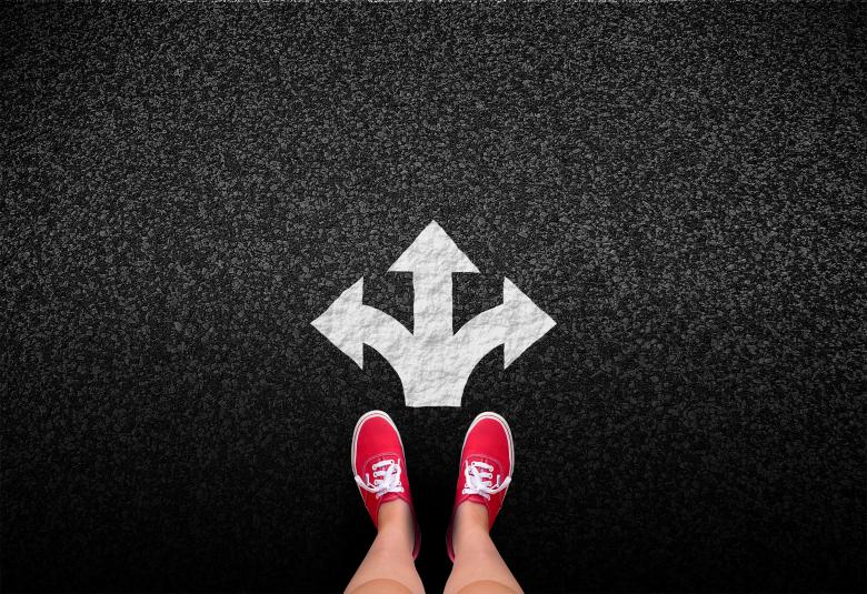 Free Stock Photo of At a crossroads - Decisions and choices concept Created by Jack Moreh