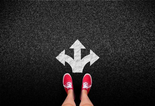 At a crossroads - Decisions and choices concept - Free Stock Photo