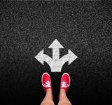 Free Photo - At a crossroads - Decisions and choices concept