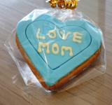 Free Photo - Love Mom Heart Cookie