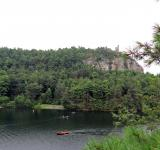 Free Photo - Skytop Tower and Mohonk Lake