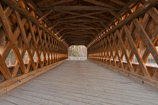Sachs Covered Bridge - HDR - Free Stock Photo