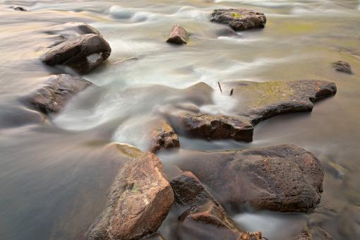 Youghiogheny Water Stream - HDR - Free Stock Photo