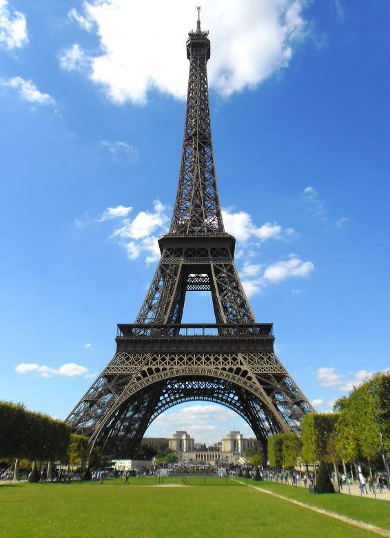 Free Stock Photo of The Eiffel Tower in Paris - France Created by Jack Moreh