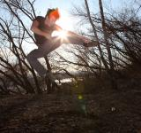 Free Photo - exercising karate