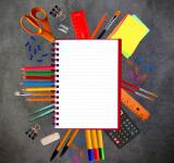 Free Photo - Notebook and school stationery supplies