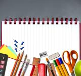 Free Photo - School supplies on notebook - Study and learning concept