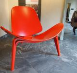 Free Photo - Red Chair at Design Museum, Copenhagen