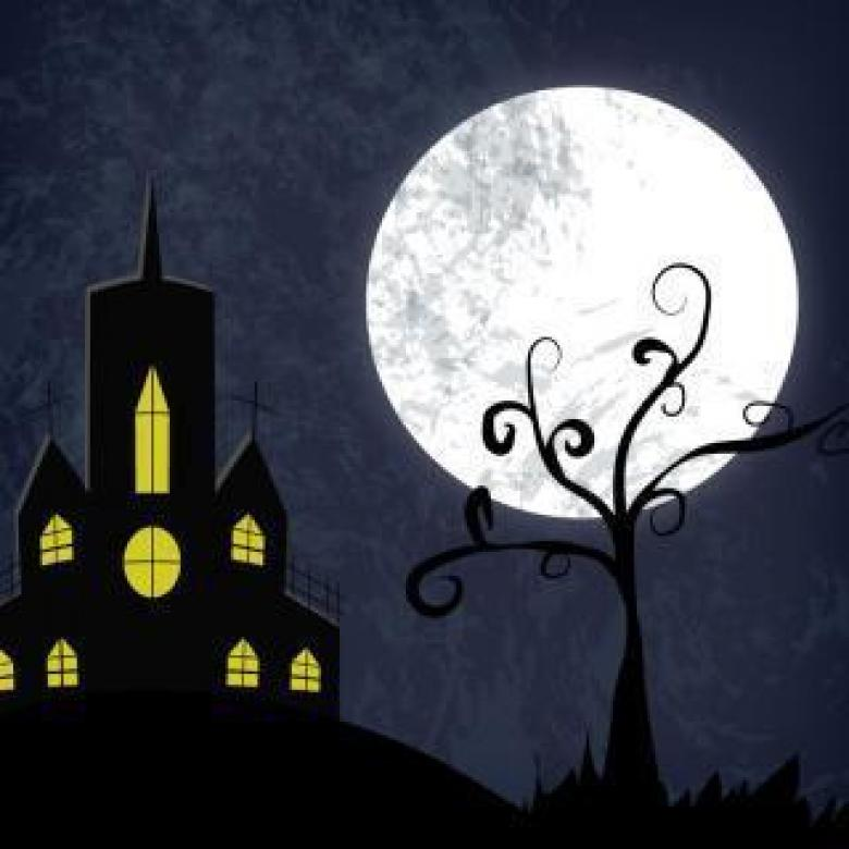Free Stock Photo of Halloween Haunted House