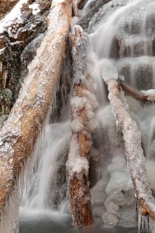 Frozen Avalon Falls - HDR - Free Stock Photo