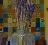 Free Photo - Lavender in a glass vase