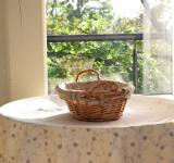 Free Photo -  Wicker basket for bread