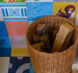 Free Photo - A basket of firewood