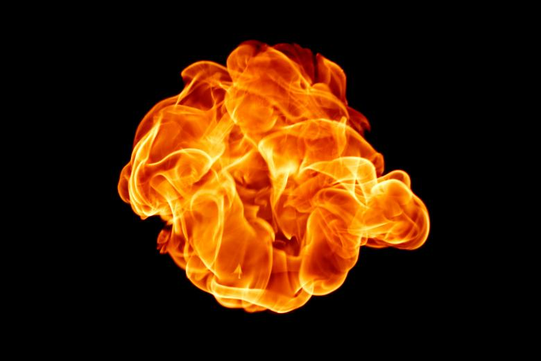 Free Stock Photo of Fireball Created by 2happy