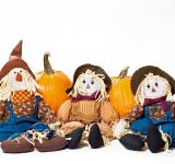 Free Photo - Autumn scarecrows