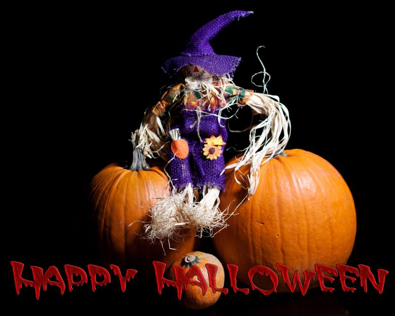 Free Stock Photo of Halloween with Text Created by Geoffrey Whiteway