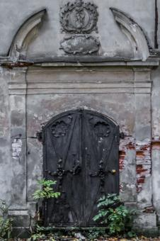 Old church doors - Free Stock Photo