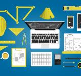 Free Photo - Engineer or architect desk - Technical profession concept