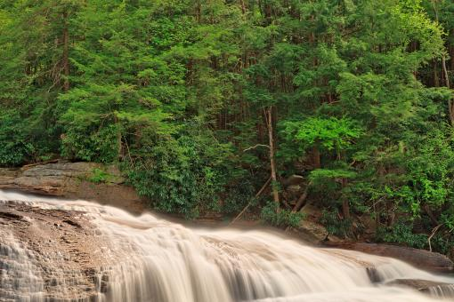 Spring Swallow Falls - HDR - Free Stock Photo