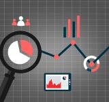 Free Photo - Web analytics concept with data icons