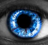 Free Photo - Human eye with clock - Time concept