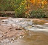 Free Photo - Swallow Falls Stream & Bridge - HDR