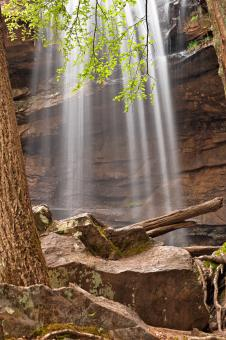Nested Cucumber Falls - HDR - Free Stock Photo